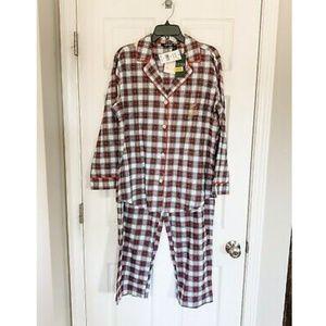NWT Lauren Ralph Lauren Pajama Set LN91749F - L